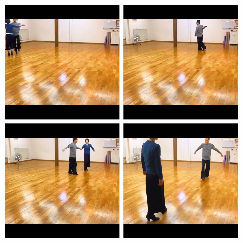 社交ダンスの練習ヒロス流