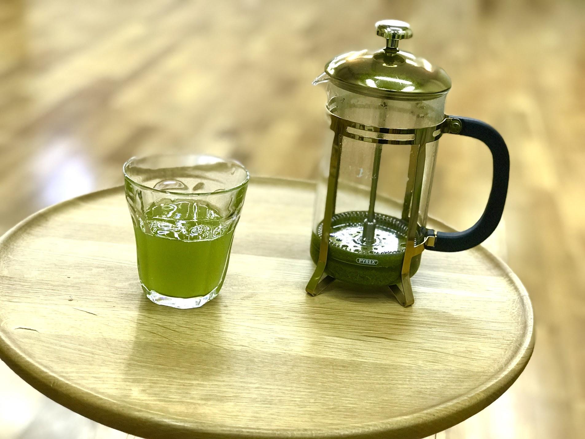 緑茶 冷茶